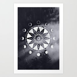 Phases Art Print
