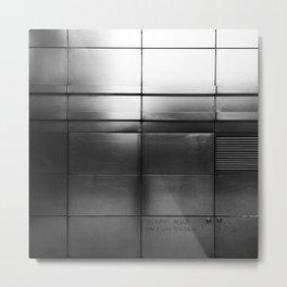 Concealed within Metal Print