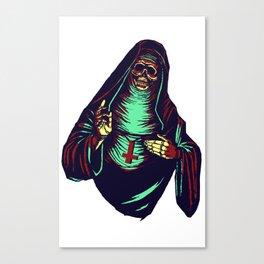Bad Voodoo Mothr Canvas Print