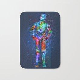 C3po smart droid Bath Mat