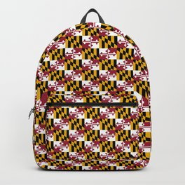 flag of maryland 2-america,usa,Old Line State,marylander, America in Miniature,Baltimore,Columbia Backpack