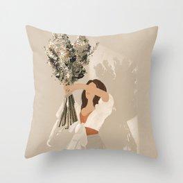 Midsummer Aeris Throw Pillow