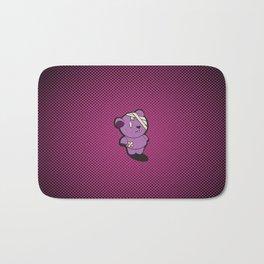 Purple Dead Bear Bath Mat