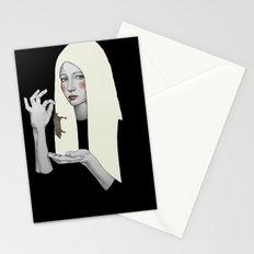 Vana in black Stationery Cards