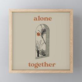 Alone Together Framed Mini Art Print