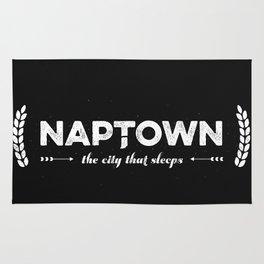 Naptown   the city that sleeps   Indianapolis Rug