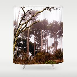 Enchanted by the Bay Shower Curtain