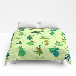 positively emerald Comforters