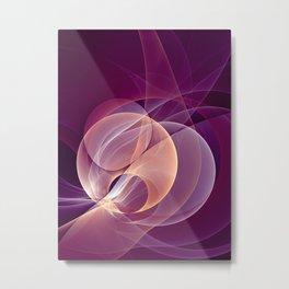 Temperament, Abstract Fractal Art Metal Print