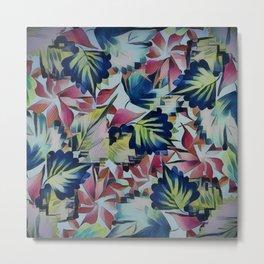 Floral Mix Up Metal Print