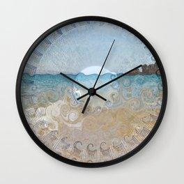Pantheon Sea Wall Clock