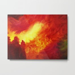 Shadrach, Meshach, and Abednego Metal Print