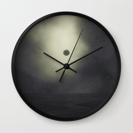 This dead planet Wall Clock