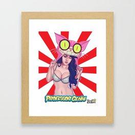Professor Genki Framed Art Print
