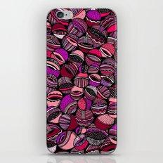 Aristoloschia fuchsia iPhone & iPod Skin