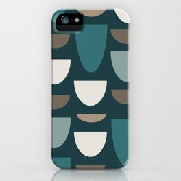 Turquoise Bowls iPhone Case