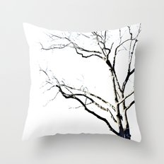 The Etching Throw Pillow