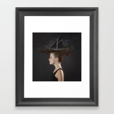 Sailing - Black Framed Art Print