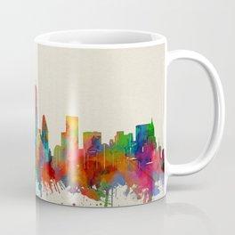 new york skyline watercolor 2 Coffee Mug