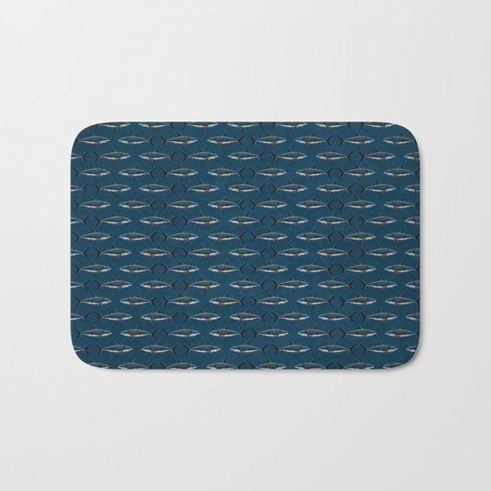 Pattern: Great White Shark Bath Mat