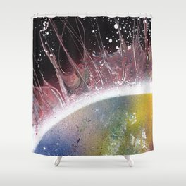 corona (Small Space 14) Shower Curtain
