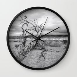 Death Valley I Wall Clock
