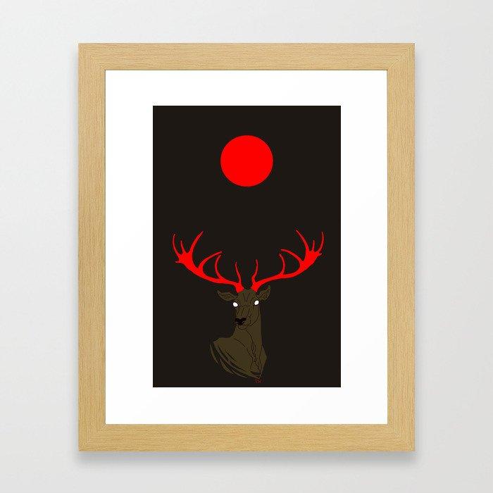 Abendrot Framed Art Print