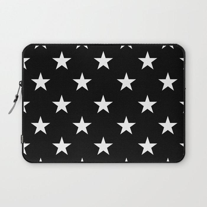 Stars (White/Black) Laptop Sleeve