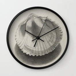 Cockle Shell Wall Clock