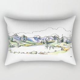Whistler Alpine Lakes Rectangular Pillow