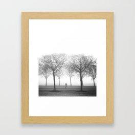 Landscape stories_Plans Framed Art Print