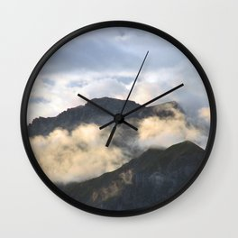 After The Storm Comes The Sun Wall Clock