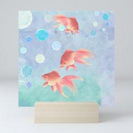 Around the bowl in Eighty seconds Mini Art Print