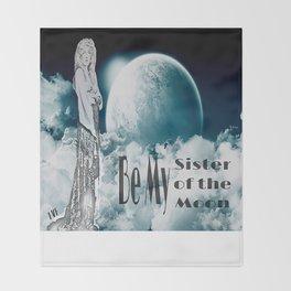 Stevie Nicks - Sister of the Moon Throw Blanket