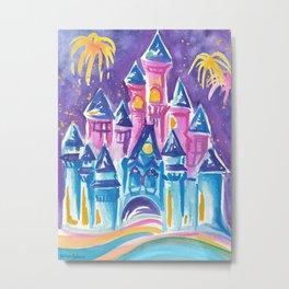Disney's Magic Kingdom Metal Print