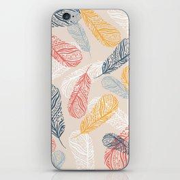 FeathersI iPhone Skin