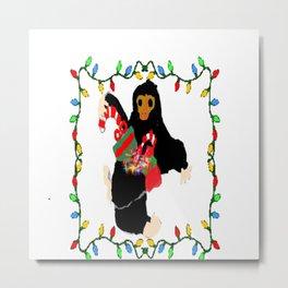 Christmas Niffler Metal Print
