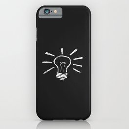 Lightbulb Moment iPhone Case