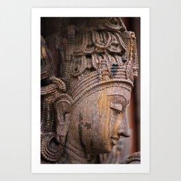 God - Krishna Art Print