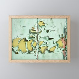 Blistered Paint Framed Mini Art Print