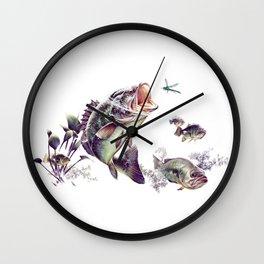 Largemouth Bass Wall Clock