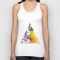 let it go Tank Tops featuring Let Go by Ryan Blanchar