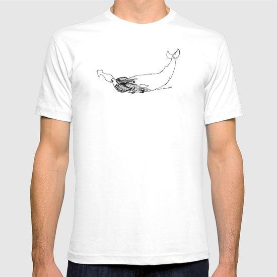Squid Vs. Whale T-shirt