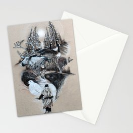 The White Wizard's Journey Home Stationery Cards