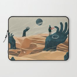 The wanderer and the desert portals Laptop Sleeve