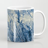 diamonds Mugs featuring Diamonds by Luiza Lazar