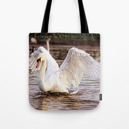 Elegant Swan Tote Bag