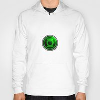 green lantern Hoodies featuring Green Lantern by Thorin