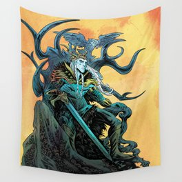 Elf King - Fire Wall Tapestry