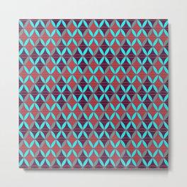 Rhomboids Pattern 2 Metal Print